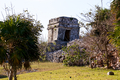 Mayan Ruins in a Park at Tulum - PhotoDune Item for Sale