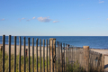 New England Beach Past a Fence Left - PhotoDune Item for Sale