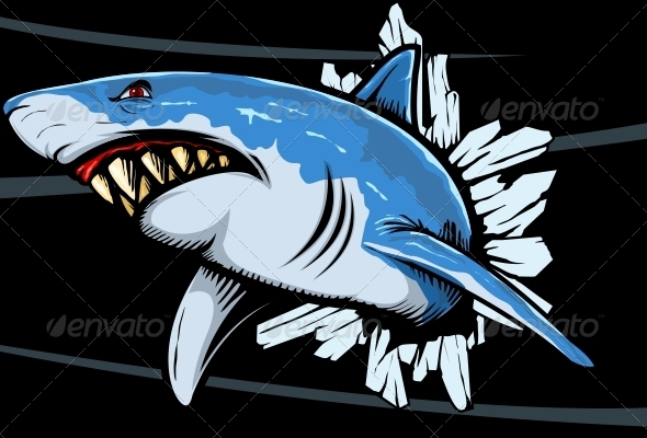 GraphicRiver Shark Rage 4079828