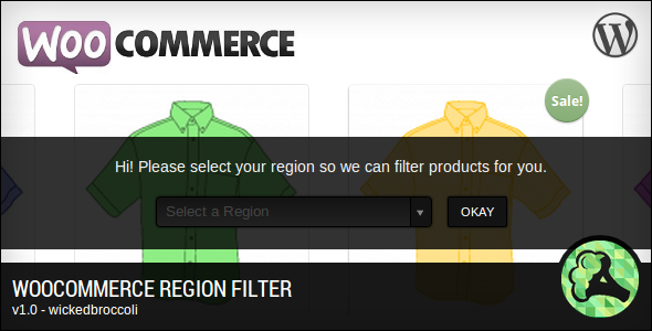 CodeCanyon WooCommerce Region Filter 4161533