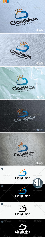 Cloud Shine - Symbols Logo Templates