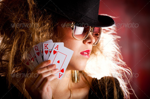 Stock Photo - PhotoDune poker player 450137