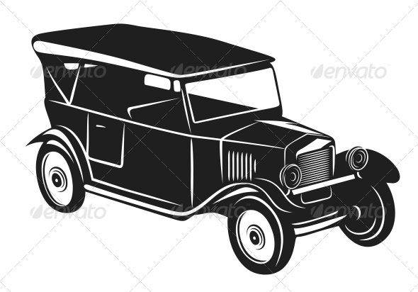 GraphicRiver Vintage car 4162337