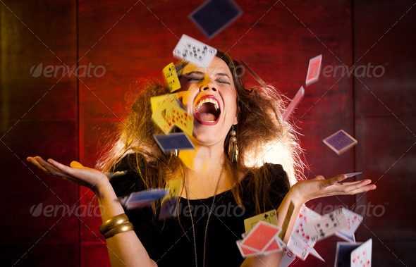 Stock Photo - PhotoDune Poker player 450153