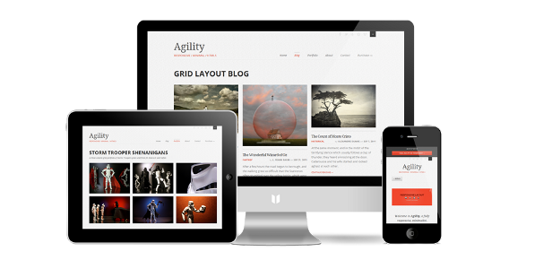 Beautiful WordPress Responsive Page Builder Themes