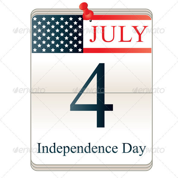 GraphicRiver Calendar for 4th July 4163052