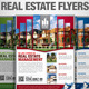 Real Estate Simple Flyers - GraphicRiver Item for Sale