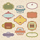 Set of Vintage Retro Frames - GraphicRiver Item for Sale