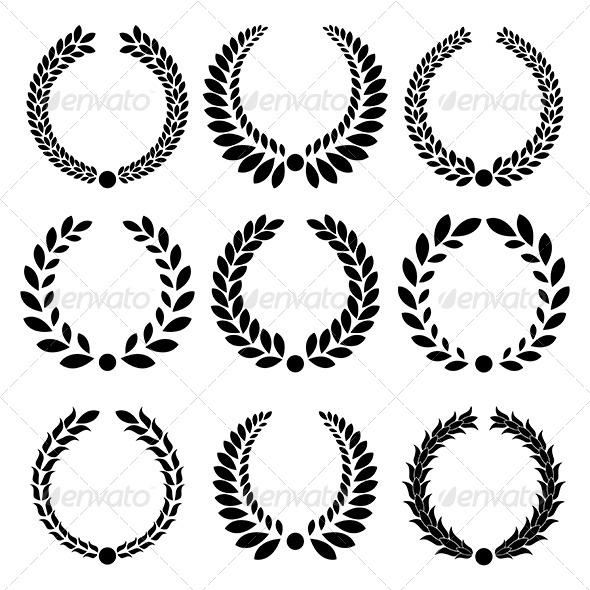 GraphicRiver Laurel Wreath 4165153