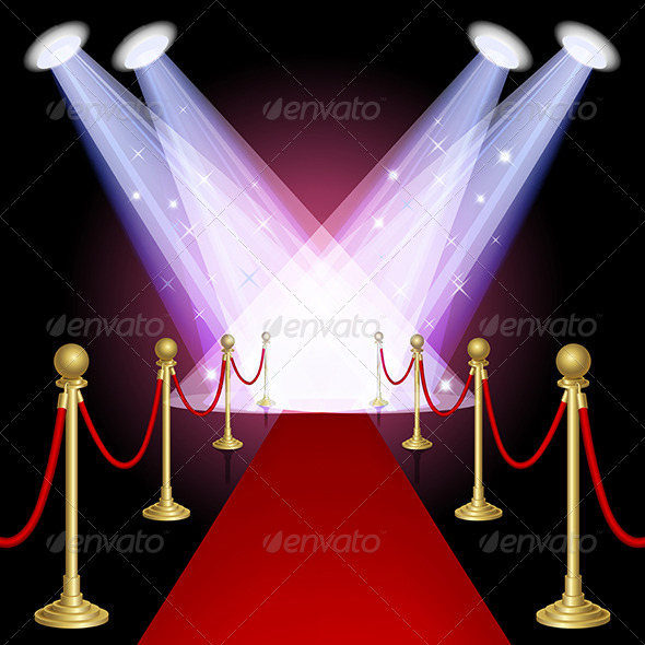 GraphicRiver Red Carpet 4165210