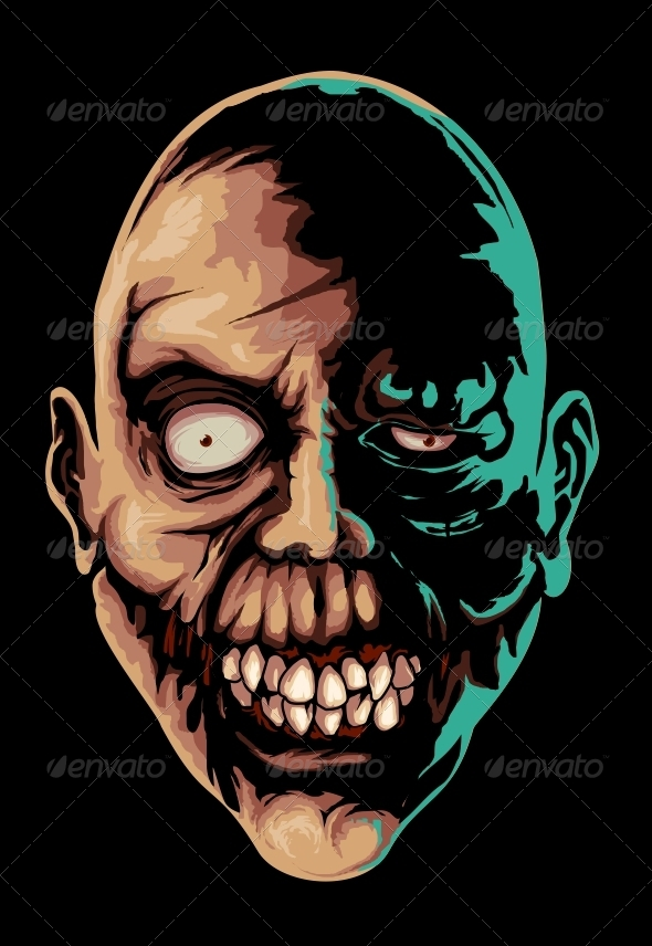 GraphicRiver Zombie s Smile 4165216