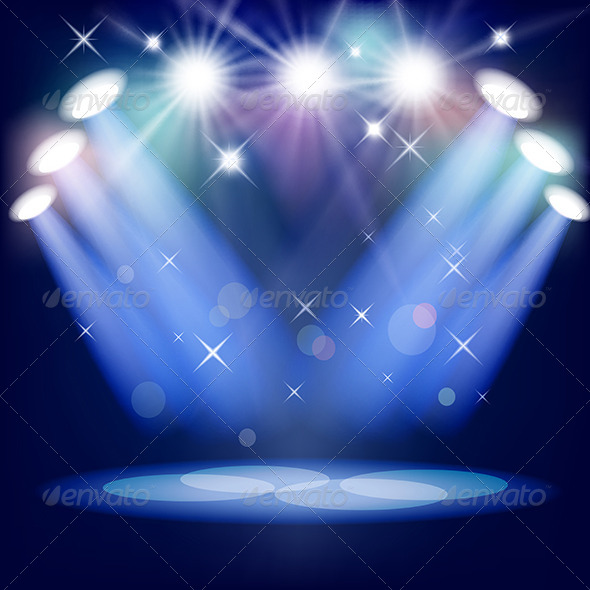 GraphicRiver Stage Light 4165318