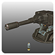 Cluster Grenade Launcher - 3DOcean Item for Sale