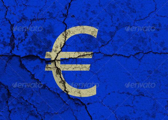 PhotoDune Cracked Euro symbol 4165874