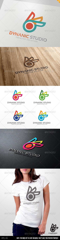 GraphicRiver Dynamic Media Studio Logo 4166229