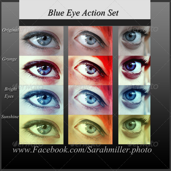 GraphicRiver Blue Eyes Action Set 4166370