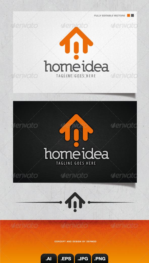 GraphicRiver Home Idea Logo 4084990