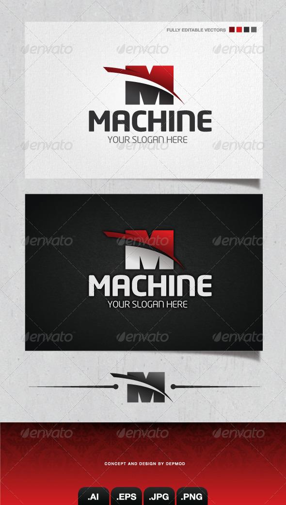 GraphicRiver Machine Logo 4166767