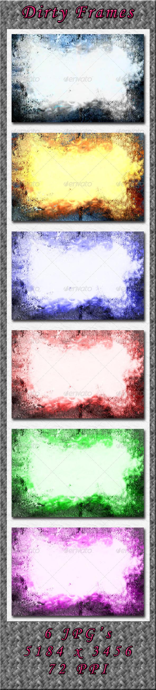 GraphicRiver Dirty Frames 4166889
