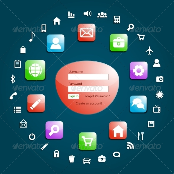 GraphicRiver Web Design Elements 4167429