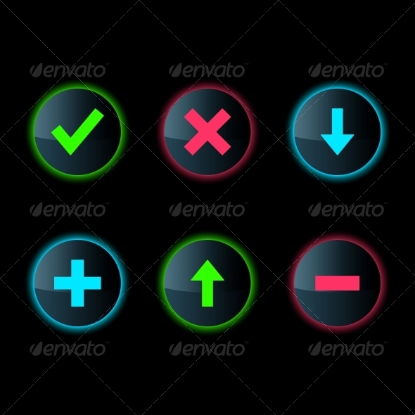 GraphicRiver Web Button Set 4167440