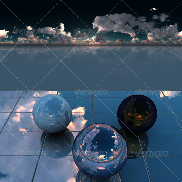 3DOcean Glass floor 4167719