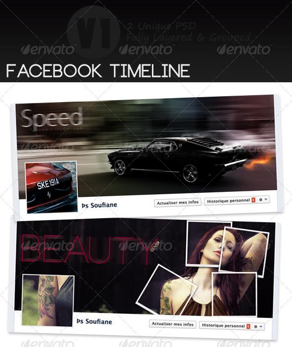 GraphicRiver Timeline Facebook Designe 4034568
