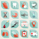 Medical Infographics - GraphicRiver Item for Sale