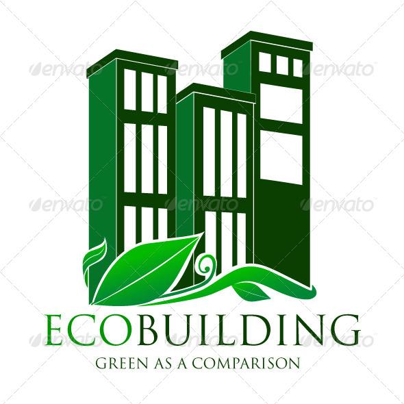Eco Building Logo By Pixelariskie Graphicriver
