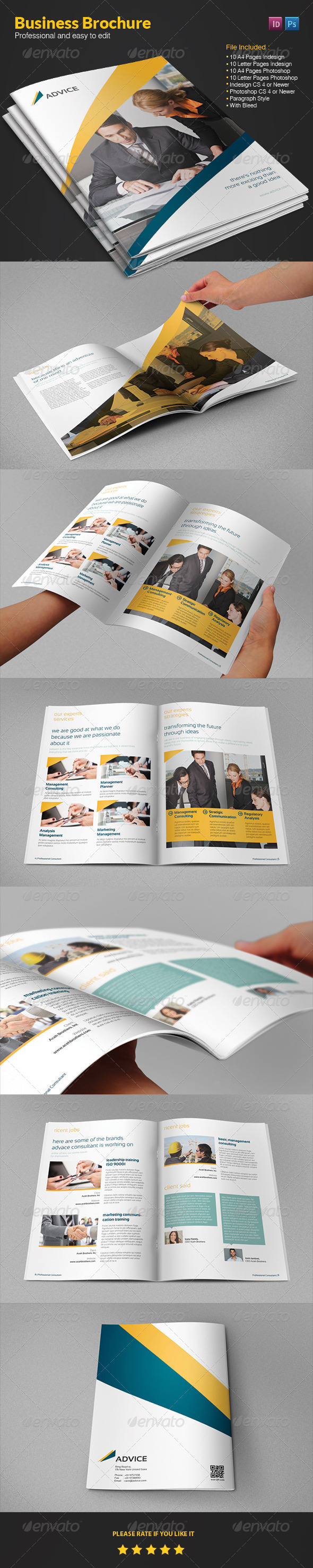 GraphicRiver Business Brochure 4169994