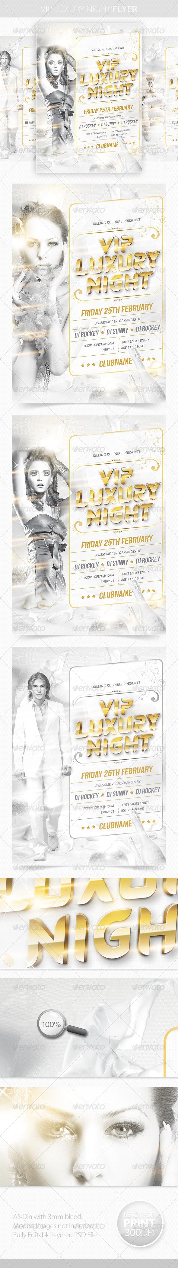 VIP Luxury Night Flyer