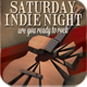Saturday Indie Night Flyer/Poster - GraphicRiver Item for Sale