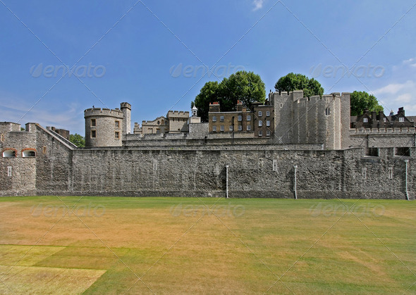 Tower lawn - Stock Photo - Images