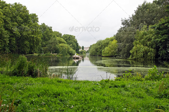 St James lake - Stock Photo - Images