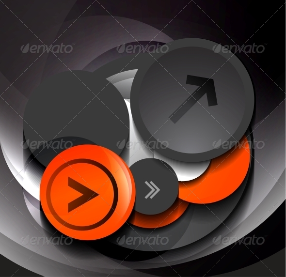 GraphicRiver 3D vector geometric circles design 4173009