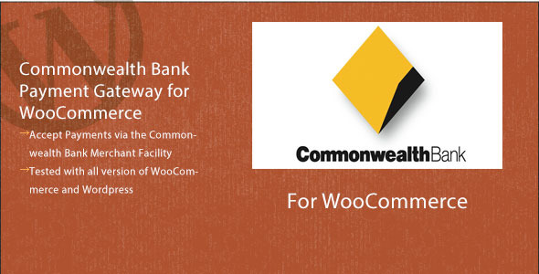 CodeCanyon Commonwealth Bank Commweb for WooCommerce 4173105