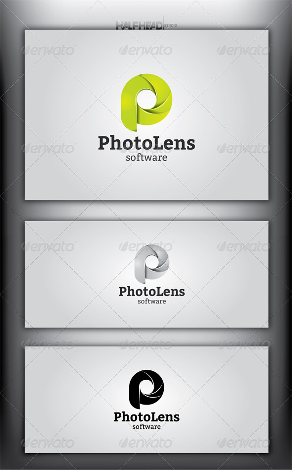 GraphicRiver PhotoLens Logo Template 4173141