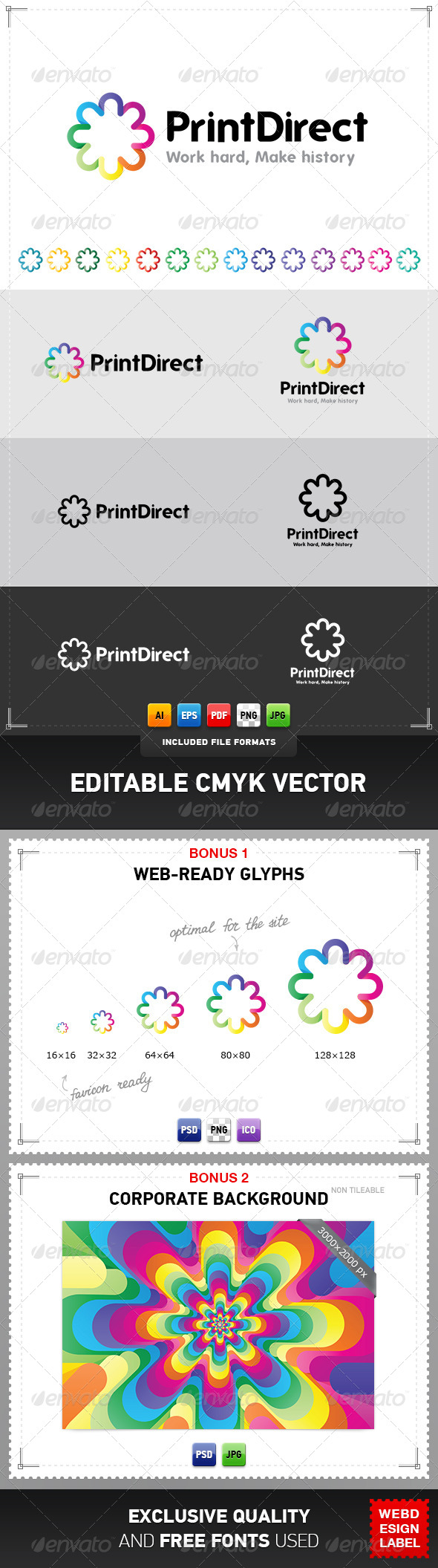 GraphicRiver Print Direct Logo 4077276
