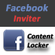 Facebook Friends Inviter & Content locker