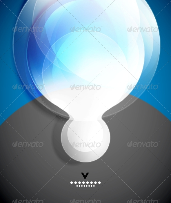 GraphicRiver Modern Geometrical Glass Design Template 4173681