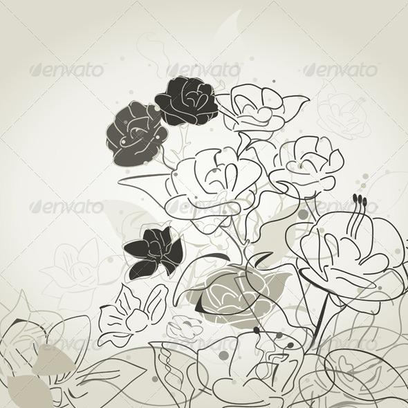 GraphicRiver Natural Retro a Background 3 4174238
