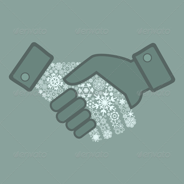 Snowflake Hand Shake