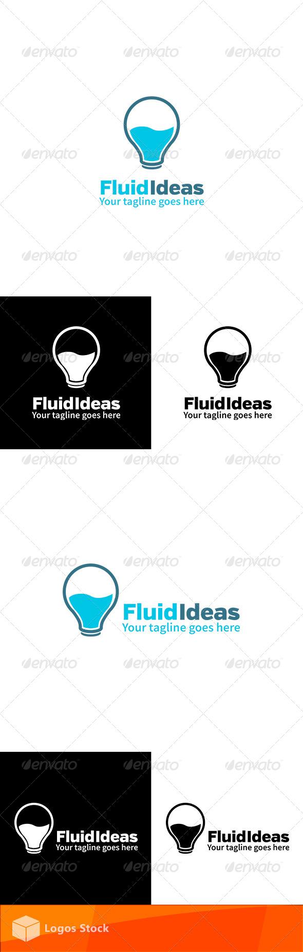 GraphicRiver Creative Logo Fluid Ideas 4174702