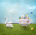 Sweet Easter Carriage - PhotoDune Item for Sale