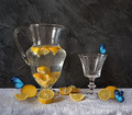 Composition with Lemons and Butterflies - PhotoDune Item for Sale