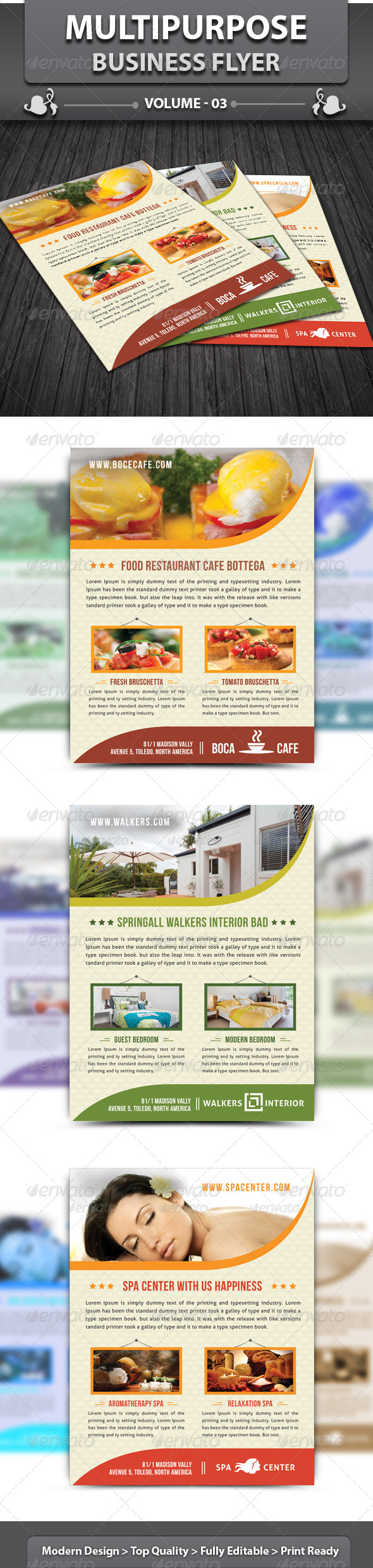 Multipurpose Business Flyer | Volume 3 - Corporate Flyers