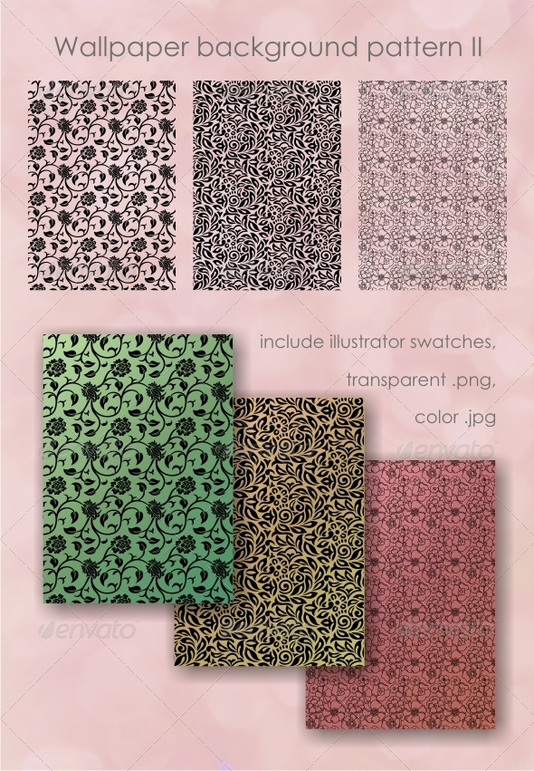 GraphicRiver Wallpaper background pattern II 4175214