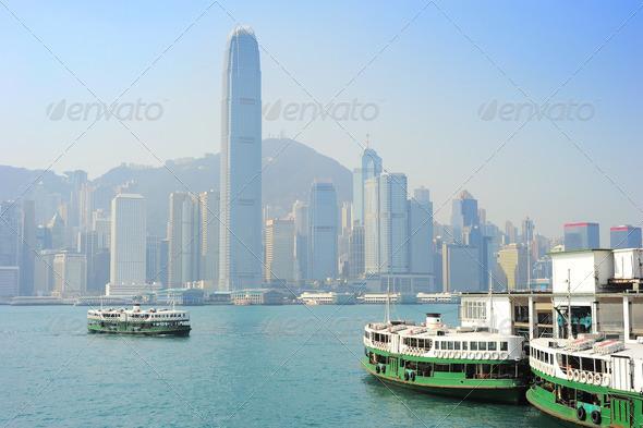PhotoDune Sunny Hong Kong 4175480