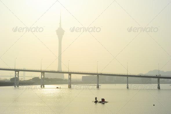 PhotoDune Macau Tower 4175486