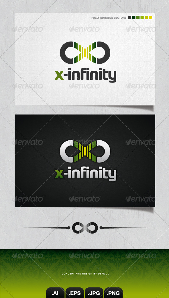 GraphicRiver X-Infinity Logo 4097019